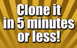 Clone this Google top ranked site in 5 Minutes or less