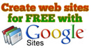 Create web sites for free with Google sites
