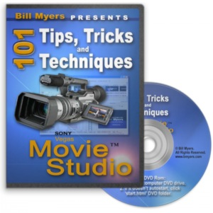 101 Tips, Tricks & Techniques Using Sony Vegas Movie Studio - Updated for MS 11