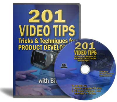 Resale Rights to 201 Video Tips & Tricks for Product Developers