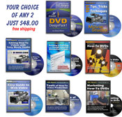 Choose any Two DVDs/CDs - Your choice $48
