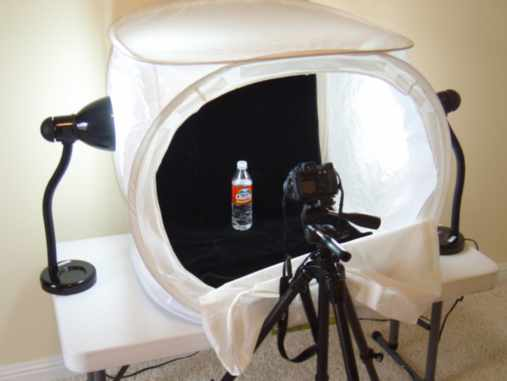 Using a light tent / cloud dome to create spectacular photos & a light tent / cloud dome to create spectacular photos